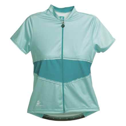 Hincapie Elegante Cycling Jersey - UPF 30+, Short Sleeve (For Women) in Ice - Closeouts