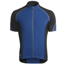 Hincapie Ponteza Cycling Jersey - UPF 30+, Full-Zip, Short Sleeve (For Men) in Marine - Closeouts