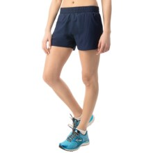 "Hind 3"" Running Shorts - Built-In Briefs (For Women) in Navy - Closeouts"