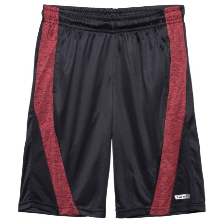 Hind Basic Shorts (For Big Boys) in Red Heather