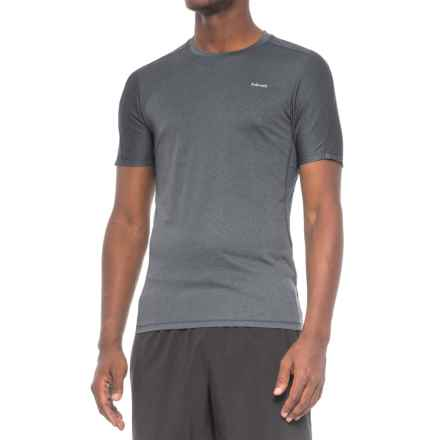 Hind Birdseye Heathered Training T-Shirt - Short Sleeve (For Men) in Obsidian - Closeouts