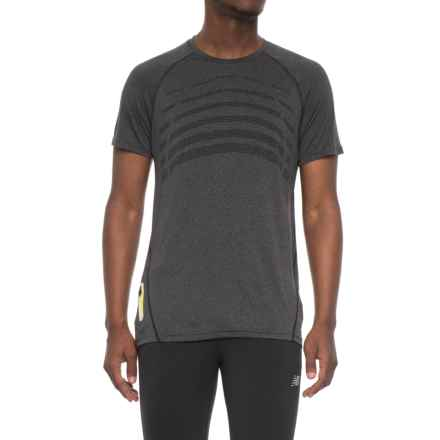Hind Body Map T-Shirt - Short Sleeve (For Men) in Charcoal - Closeouts
