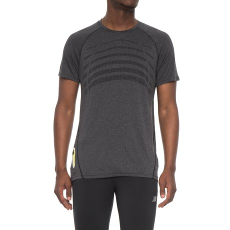 Hind Body Map T-Shirt - Short Sleeve (For Men) in Charcoal