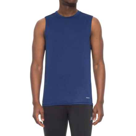 Hind Body Map Tank Top (For Men) in Royal - Closeouts