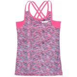 Hind Double-Strap Tank Top - Built-In Bra (For Big Girls)