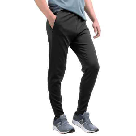 Hind Elite Stretch Running Pants - Slim Fit (For Men) in Rich Black - Closeouts