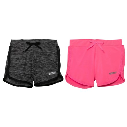 7892035353 Hind Knit Shorts - Built-In Brief, 2-Pack (For Big Girls
