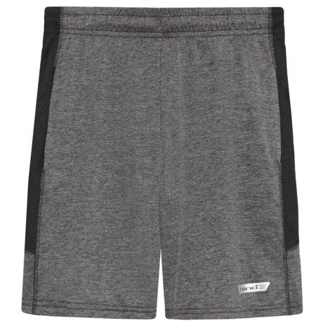Hind Pull-On Space-Dye Shorts (For Big Boys) in Heather Grey