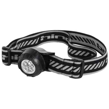 Hind Single Headlamp in Rich Black - Closeouts