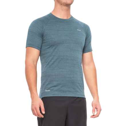 Hind Space-Dyed Mesh Heather T-Shirt - Crew Neck, Short Sleeve (For Men) in Blue Eclipse - Closeouts