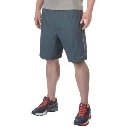 Hind Stretch Shorts - Built-In Shorts (For Men) in Dark Shadow/Neptune Blue - Closeouts