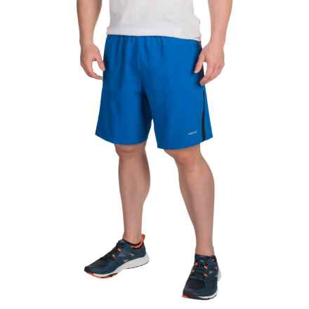 """Hind Woven 9"""" Shorts - Built-In Briefs (For Men) in Classic Blue - Closeouts"""