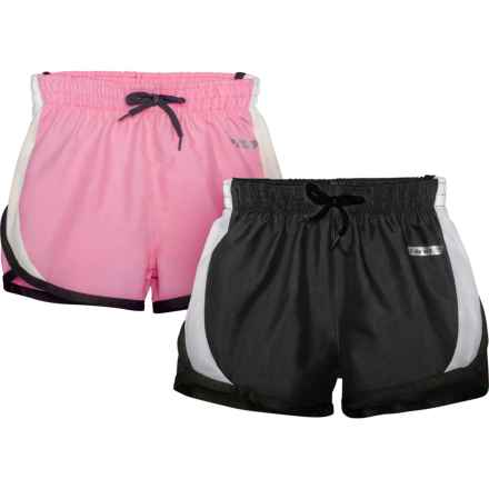 db97655320252a Hind Woven Shorts - 2-Pack, Built-In Briefs (For Little Girls