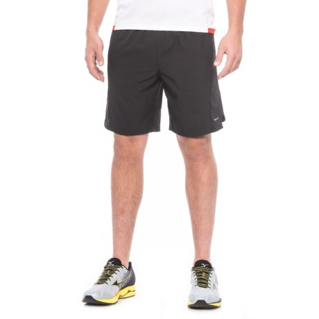 """Hind Woven Stretch Shorts - 9"""", Built-In Brief (For Men)"""