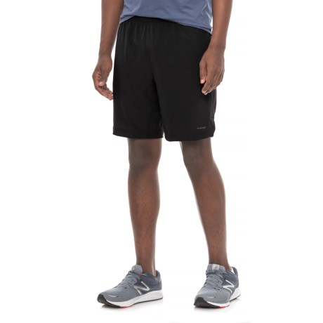 "Hind Woven Stretch Shorts - 9"" (For Men) in Black"