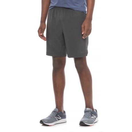 "Hind Woven Stretch Shorts - 9"" (For Men) in Obsidian"