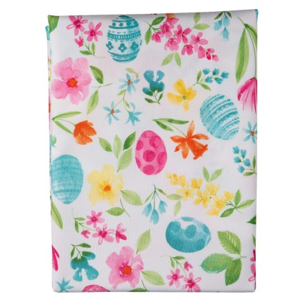 """3a523b96377e1 Hip and Hop Gracie Floral Tablecloth - 60x84"""" in Multi Bright - Closeouts"""