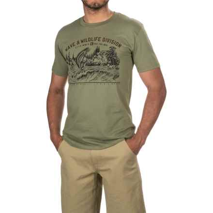 HippyTree Bait T-Shirt - Organic Cotton, Short Sleeve (For Men) in Military - Closeouts