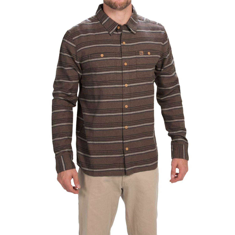 hippytree barley flannel shirt for men save 82