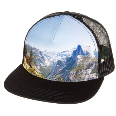 e1926346c0b HippyTree Half Dome Baseball Cap (For Men) in Black - Closeouts