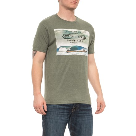 d45ce08993c HippyTree Heather Army Panga T-Shirt - Short Sleeve (For Men) in Heather