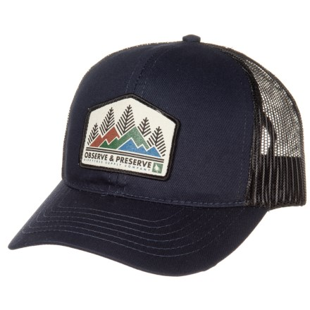 e9cf6e9e0c5 HippyTree Heritage Baseball Cap (For Men) in Navy - Closeouts