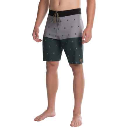 HippyTree Legend Swim Trunks (For Men) in Forest - Closeouts