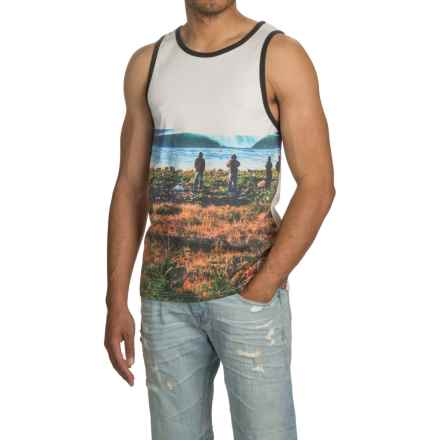 HippyTree Maritime Photo Tank Top (For Men) in White - Closeouts