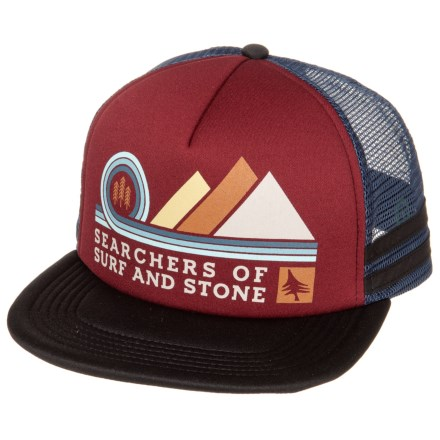ffc09e73db9 HippyTree Pinnacle Trucker Hat (For Men) in Rust - Closeouts