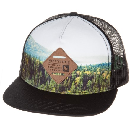 afceb348bd7 HippyTree Southeast Trucker Hat (For Men) in Black - Closeouts