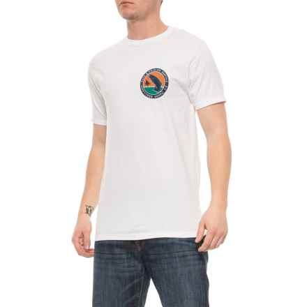 HippyTree White Wetland T-Shirt - Short Sleeve (For Men) in White - Closeouts