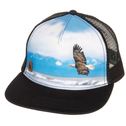 05314dd5b27 HippyTree Wingspan Trucker Hat (For Men) in Black - Closeouts