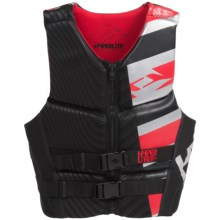HO Sports Hyperlite Prime Neoprene PFD Life Jacket - Type III in Black/Red - Closeouts