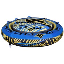 HO Sports Switch Towable Tube - 2- to 3-Person in Blue/Yellow - Closeouts