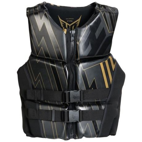 HO Sports System Neoprene PFD Life Vest - Type III in Black
