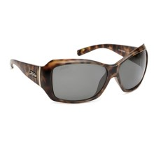 Hobie Ava Sunglasses - Polarized (For Women) in Satin Leopard Tortoise/Grey - Closeouts