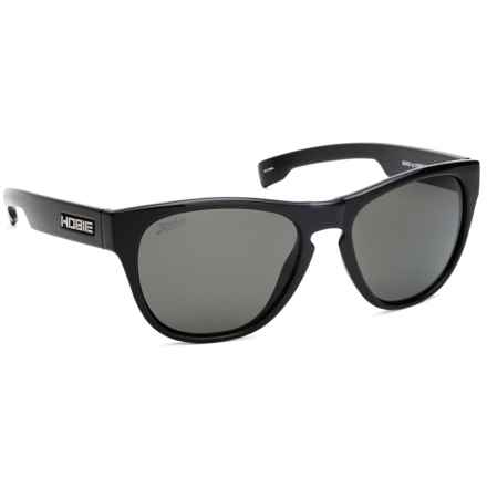 Hobie Bondi Sunglasses - Polarized in Shiny Black/Grey - Closeouts