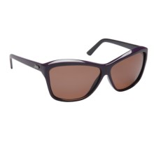 Hobie Emma Sunglasses - Polarized (For Women) in Dark Purple And Black/Copper - Closeouts