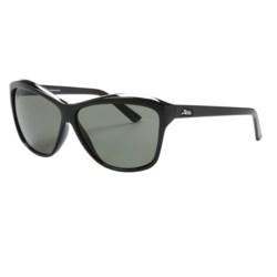 Hobie Emma Sunglasses - Polarized (For Women) in Shiny Black/Grey