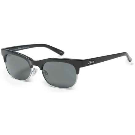 Hobie Hailey Sunglasses - Polarized (For Women) in Shiny Black/Silver/Grey - Closeouts