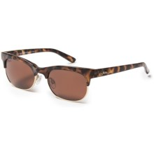 Hobie Hailey Sunglasses - Polarized (For Women) in Shiny Leopard Tortoise/Gold/Copper - Closeouts