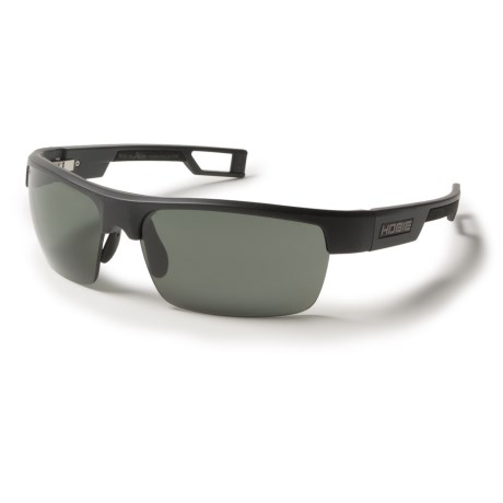 Hobie Manta Sunglasses - Hydro Infinity Polarized Lenses in Satin Black/Grey