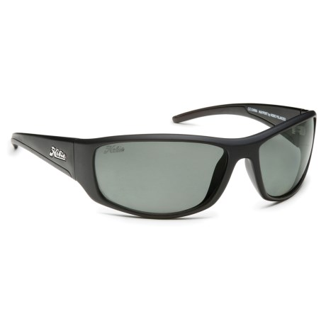 Hobie Mayport Sunglasses - Polarized in Satin Black/Grey