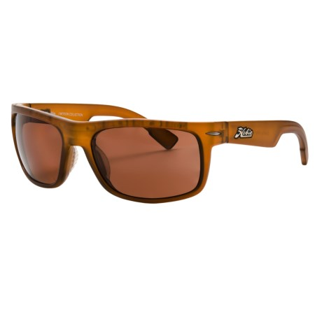 Hobie Olas Sunglasses - Polarized in Satin Crystal Rootbeer/Copper