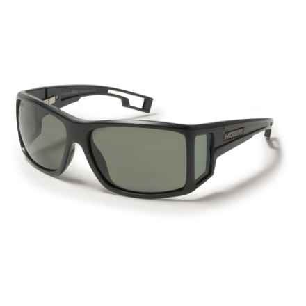 Hobie Ventana Sunglasses - Hydro Infinity Polarized Lenses in Satin Black/Grey - Closeouts