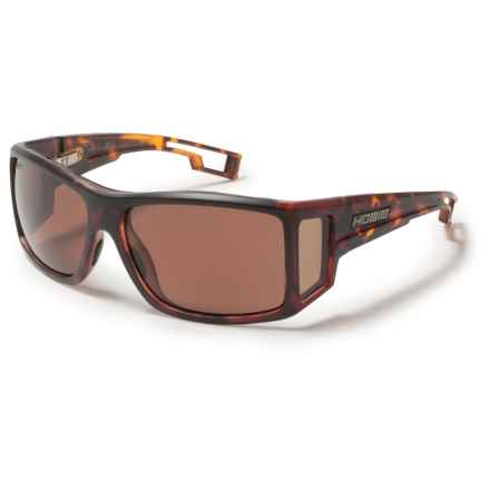 Hobie Ventana Sunglasses - Hydro Infinity Polarized Lenses in Satin Tortoise/Copper - Closeouts