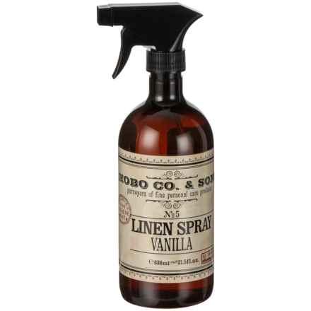 HoBo Co. & Sons Vintage Vanilla Water Linen Spray - 21.5 oz. in Vanilla - Closeouts