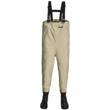Hodgman Breathable Chest Waders- Bootfoot, Felt Sole (For Men) in Tan - Closeouts