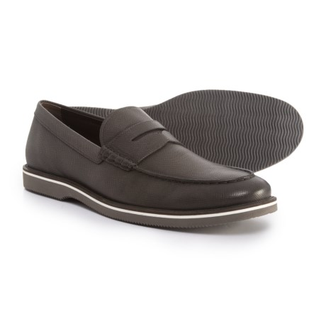 HOGAN Made in Italy Club Loafers - Leather (For Men) in Metal