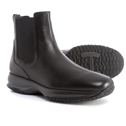 a3eb8b95f Clearance. HOGAN Made in Italy Tall Chelsea Boots - Leather (For Men) in  Black -